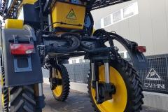 Caffini Striker 4000-28 önjáró permetező 2018 5