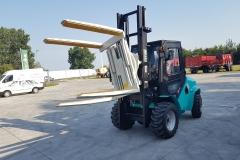Maximal RT25 targonca fordító toronnyal 2019 1