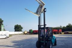 Maximal RT25 targonca fordító toronnyal 2019 2