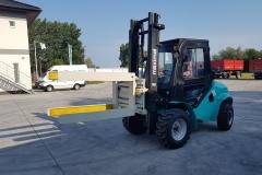 Maximal RT25 targonca fordító toronnyal 2019 3