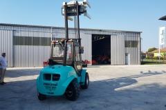 Maximal RT25 targonca fordító toronnyal 2019 4