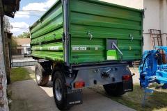 Metal-Fach T711-3 pótkocsi 2017 John Deere Zöld 2