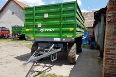 Metal-Fach T711-3 pótkocsi 2017 John Deere Zöld 3