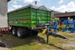 Metal-Fach T730-3 pótkocsi 2017 John Deere zöld szín 02