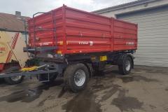 Metal-Fach T739 pótkocsi 2019 2