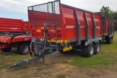 Metal-Fach N267-2 szervestrágyaszóró kocsi 2020 2